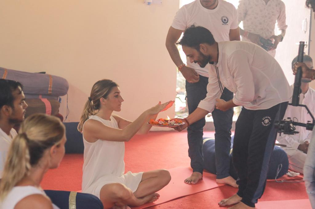 fun at Yash Yoga School Rishikesh