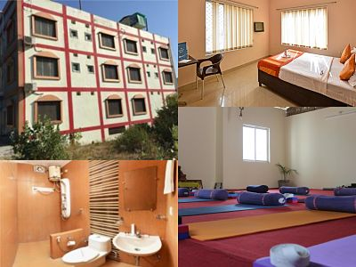 rooms at yash yoga school rishikesh